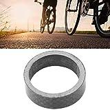 Demeras langlebig Hohe Robustheit Hochleistungs-Carbon-Fahrradausrüstung Fahrrad Vorderradgabel Headset Unterlegscheibe Spem Spacer 5mm 10mm für Trailriding(10mm)