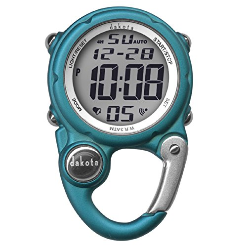 Dakota Digital Clip Mini Watch - Water Resistant - Aqua
