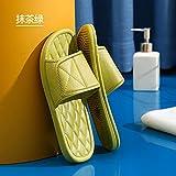 WENHUA Zapatos de Playa y Piscina para Hombre Baño, Suave Bañarse Sandalias Zapatillas, 2021 nuevos Zapatos de baño Masculinos Antideslizantes Femeninos, Green_36-37