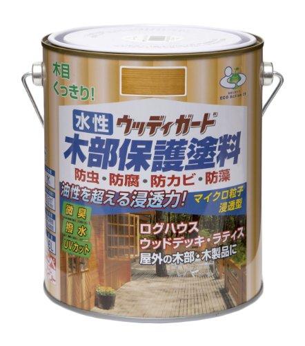 ニッペ 水性ウッディガード1.6L ライトオーク