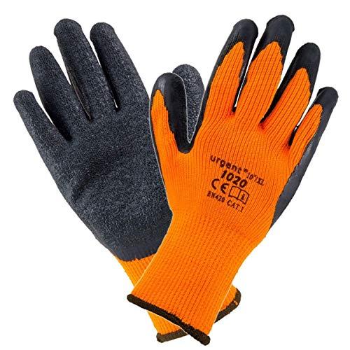 U 10200 WARME MONTAGEHANDSCHE - 12 Paar; GRÖßE 10 (KG) Handschuhe Warme Handschuhe Arbeitshandschuhe Berufshandschuhe Schutzhandschuhe EN 420, Kat. I
