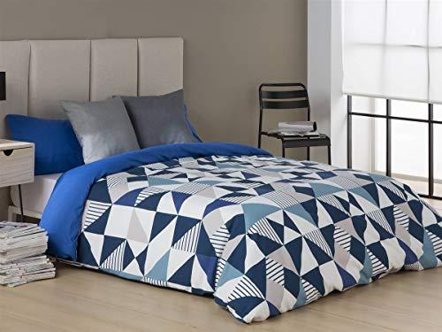 Sansa - Funda nórdica EVOL - Cama 90 cm - Color Azul