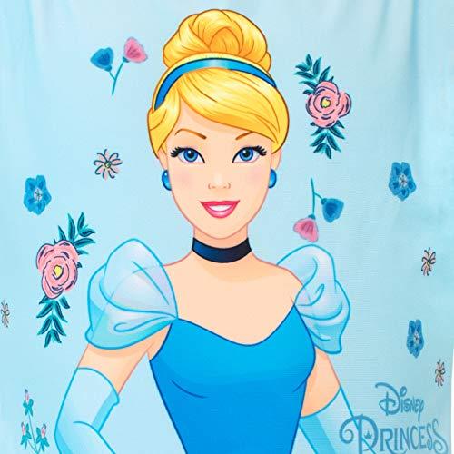 Disney Costume da Bagno per Ragazze Cinderella Blu 3-4 Anni