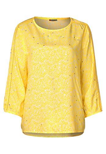 Street One Damen 341906 Bluse, Shiny Yellow, 42
