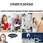 Pantalla de protección Facial, 12 Piezas de Visera y 6 Piezas de Gafas de protección de Seguridad An... #6