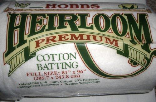 Hobbs Erbstück Prämie Baumwolle: 81 x 96in (Full), Baumwollmischung, Sortiert