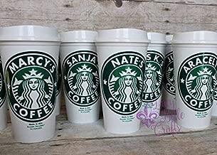 Personalized Reusable Plastic-16 Ounce Travel Mug
