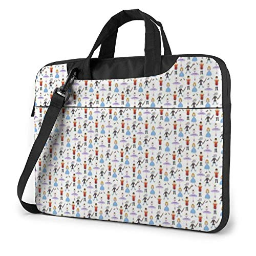 Dancers Laptop Sleeve Case 13 Inch Computer Tote Bag Shoulder Messenger Briefcase for Business Travel