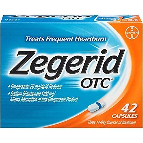 Zegerid OTC Acid Reducer Capsules 42 ea