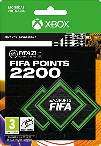 FIFA 21 Ultimate Team 2200 FIFA Points   Xbox - Código de descarga