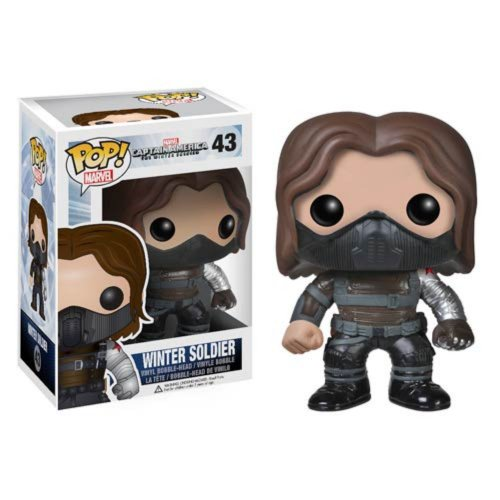 Figura Pop Marvel: Winter Soldier Unmasked