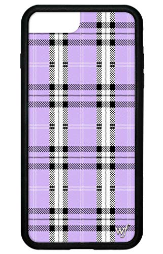 Wildflower Limited Edition Cases for iPhone 6 Plus, 7 Plus, or 8 Plus (Lavender Plaid)