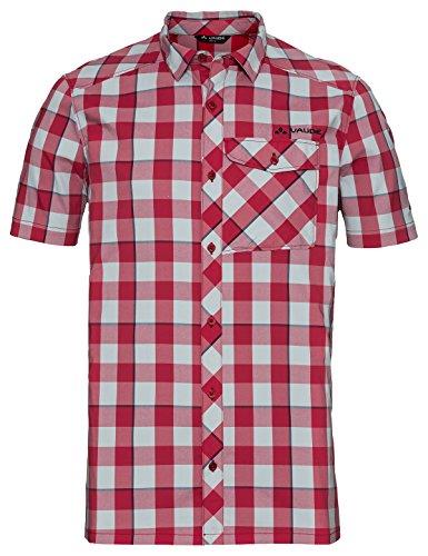 VAUDE Herren Men's Prags Shirt II Hemd, Dark Indian red, XL
