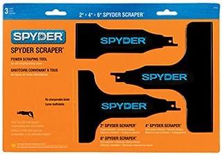 Spyder Scraper 00134 Scraping Tool Attachment for Reciprocating Saws, Black, Multi-Pack