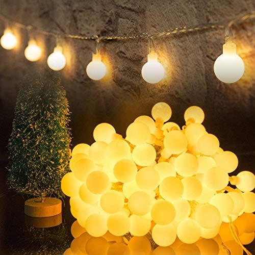 HOTLIKE Guirnalda Luces, Cadena de Luces 5M 50 LED, 2 Modos, Fairy...