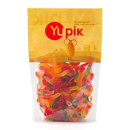 Yupik Mini Gummy Worms, 2.2 Pound