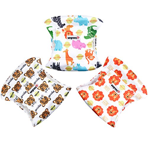 Wegreeco Washable Male Dog Belly Band (Stylish Pattern)- Pack of 3 - Washable Male Dog Belly Wrap, Dog Diapers Male (M, Magic)