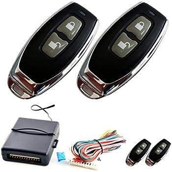 Chiave Pieghevole Telecomando Centrale dellautomobile Serratura Chiusura Keyless Entry System con i regolatori a Distanza 100F68