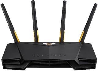 ASUSTek WiFi 無線 ルーター WiFi6 2402+574Mbps デュアルバンドゲーミング TUF-AX3000 (A) メッシュ機能付 3階建 / 4LDK PS5/Nintendo Switch/iPhone/android 対応