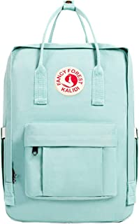 KALIDI Casual Backpack for Women,15 Inches Laptop Classic Backpack Camping Rucksack Travel Outdoor Daypack College School Bag (Mint Green)