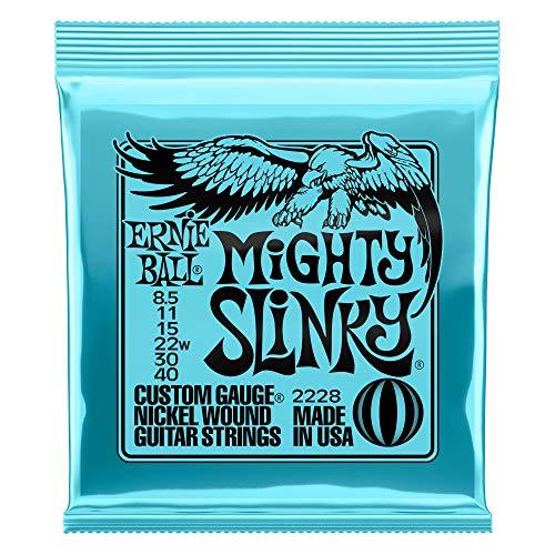Mighty Slinky Nickel Wound Electric Guitar Strings 8.5 - 40 Gauge