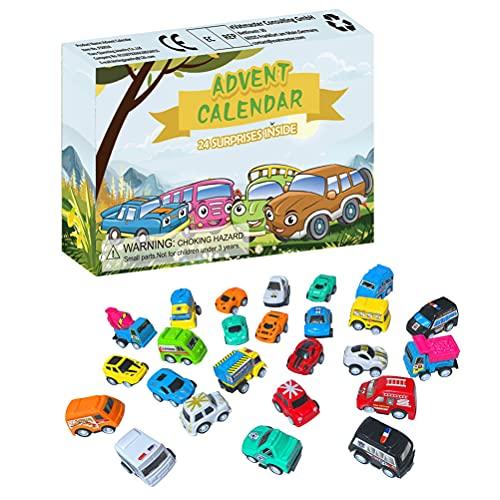 Calendario de Adviento de Navidad, 24 días, calendario de cuenta regresiva, juego de juguetes para niños, adultos, sorpresa, alivio del estrés, regalo de fiesta de Navidad