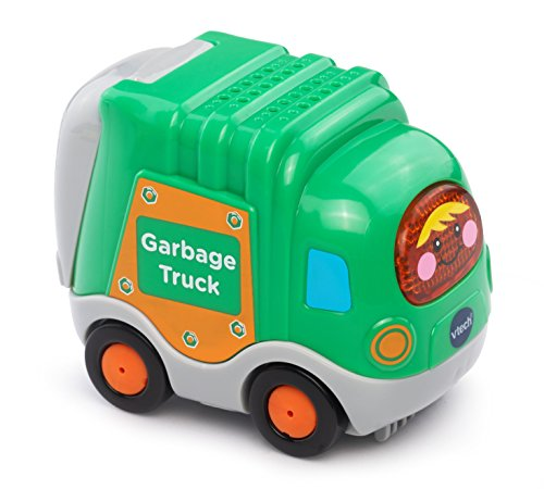 Vtech – Toot Toot Drivers – Dustbin Lorry – Tut Tut Bolides Camion Poubelle Version Anglaise