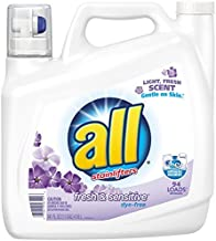 Sun Products All Liquid Laundry Detergent, Fresh & Sensitive, 141 Ounces, 94 Loads by All (141 Oz)