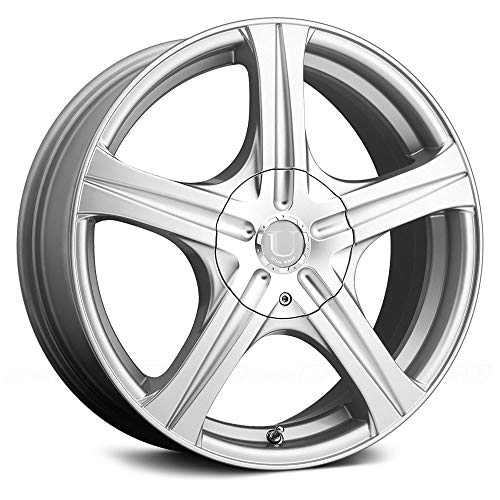 Ultra Slalom 15 Silver Wheel / Rim 4x100 & 4x4.5 with a 35mm Offset and a 73 Hub Bore. Partnumber 403-5603+35S