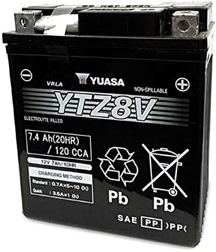 YUASA BATTERIE YTZ8V AGM chiuso