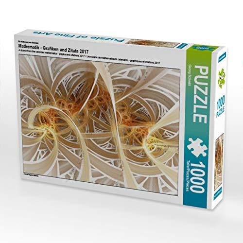 CALVENDO Puzzle Mathematik - Grafiken und Zitate 2017 1000 Teile Lege-Größe 64 x 48 cm Foto-Puzzle Bild von Georg Schmitt