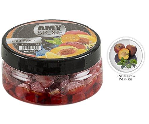 Amy Stone Shisha Dampfsteine - Chill Peach - 125g | Tabakersatz für Wasserpfeife