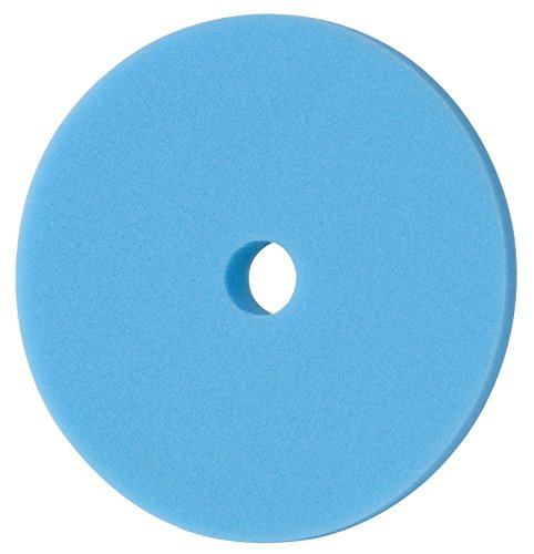 Menzerna 150mm Polierschwamm Rot Gelb grün Blau Polier Foam Pad Variante wählbar! (150mm Blau Wax Foam Pad)