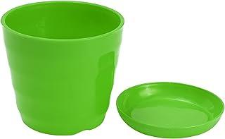 SHENYI Home and Jardin Belle Petite Plante Plastique Pot coloré Pot de Fleur Durable conteneur de décoration de Bricolage ...