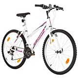 Multibrand, PROBIKE 6th SENSE, 460 mm, 26 pulgadas, Mountain Bike, 18 velocidades, Set de Mudgard,...