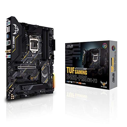 Placa-Mãe Asus Intel LGA 1200 TUF Gaming B460-PRO (Wi-Fi) ATX DDR4