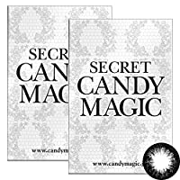 Secret Candymagic monthly シークレット キャンディー マジック マンスリー 【カラー】NO.5ブラック 【PWR】-1.75 1枚入 2箱