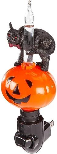 wholesale Halloween discount Jack O'Lantern and Black high quality Cat Bubble Light Night Light online sale