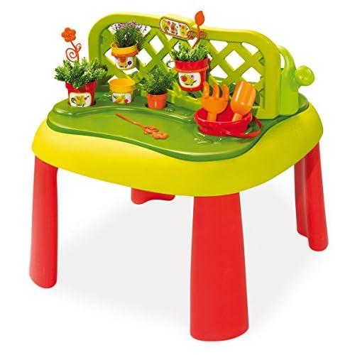 Smoby 7600840100 Tavolino Giardinaggio