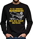 Hoverboard California Sweat-shirt Homme - Noir - Small