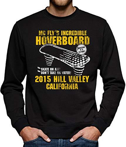 TShirt-People Hoverboard California - Felpa da Uomo Nero XL