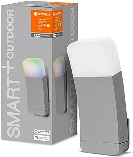 LEDVANCE Oprawa oświetleniowa ogrodowa typu smart LED: for ściana, SMART+ CURVE MULTICOLOR / 9 W, 220…240 V, RGBW, 3000 K,...