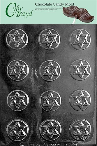 STAR OF DAVID MINTS chocolate candy mold