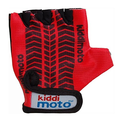 KIDDIMOTO GLV013/M Fahrrad Handschuhe RED TYRE Gr.M Glv013, 5 Jahre
