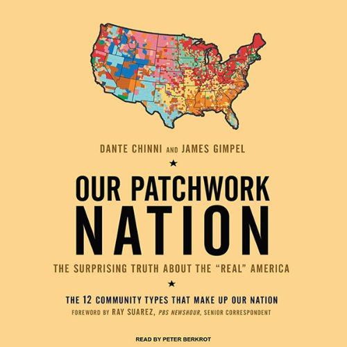 Our Patchwork Nation audiobook cover art