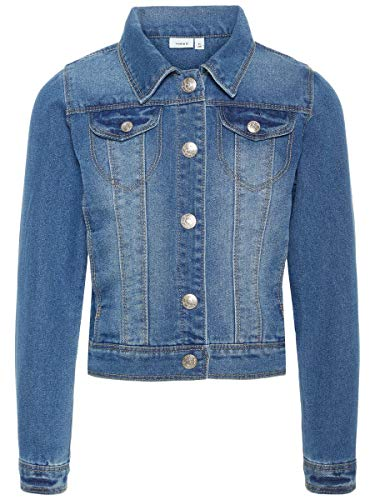 NAME IT Damen Jeansjacke nitstar rika 122Medium Blue Denim