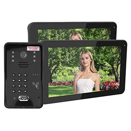 Haowecib Sistema de videoportero, Sistema de Timbre con videoportero, Tarjeta de contraseña de aplicación remota para(European regulations)