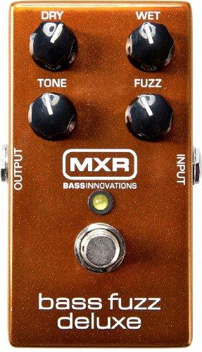 DUNLOP M84 Bass Fuzz Deluxe - Pedal de efectos para bajos