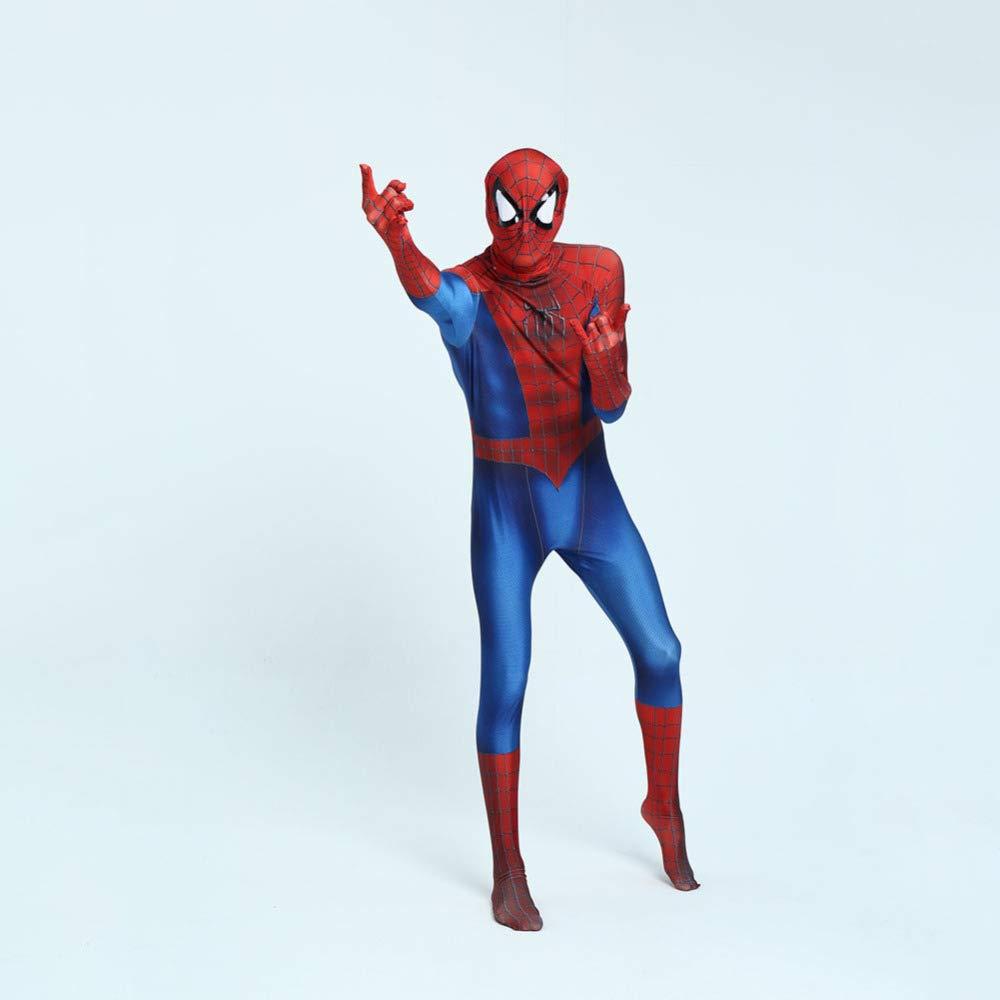 KYOKIM Traje De Cosplay De Spiderman, Negro, Rojo, Dos Versiones ...