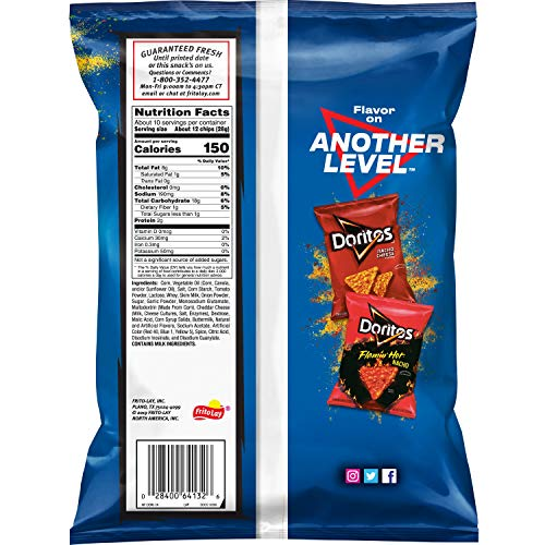Doritos Cool Ranch Flavored Tortilla Chips, 9.75 Ounce (Packaging May Vary)